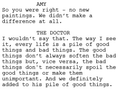 Vincent and the Doctor Dialogue 5