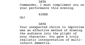 Star Trek TNG Frame of Mind Dialogue 2
