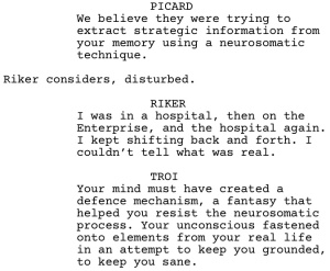 Star Trek TNG Frame of Mind Dialogue 3