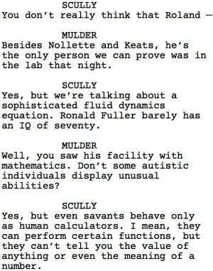 The X-Files Roland Dialogue 1