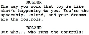 The X-Files Roland Dialogue 2